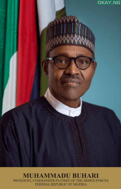 Official portrait of President Muhammadu Buhari