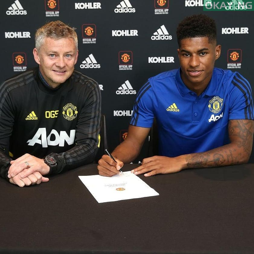 Photo of Rashford renews Manchester United contract