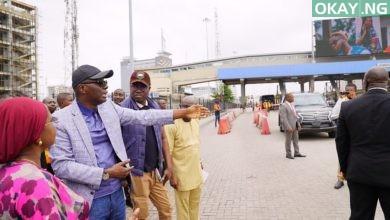 Sanwo Olu toll gates Okay ng 390x220 - Sanwo-Olu removes toll fees for motorists along Lekki axis