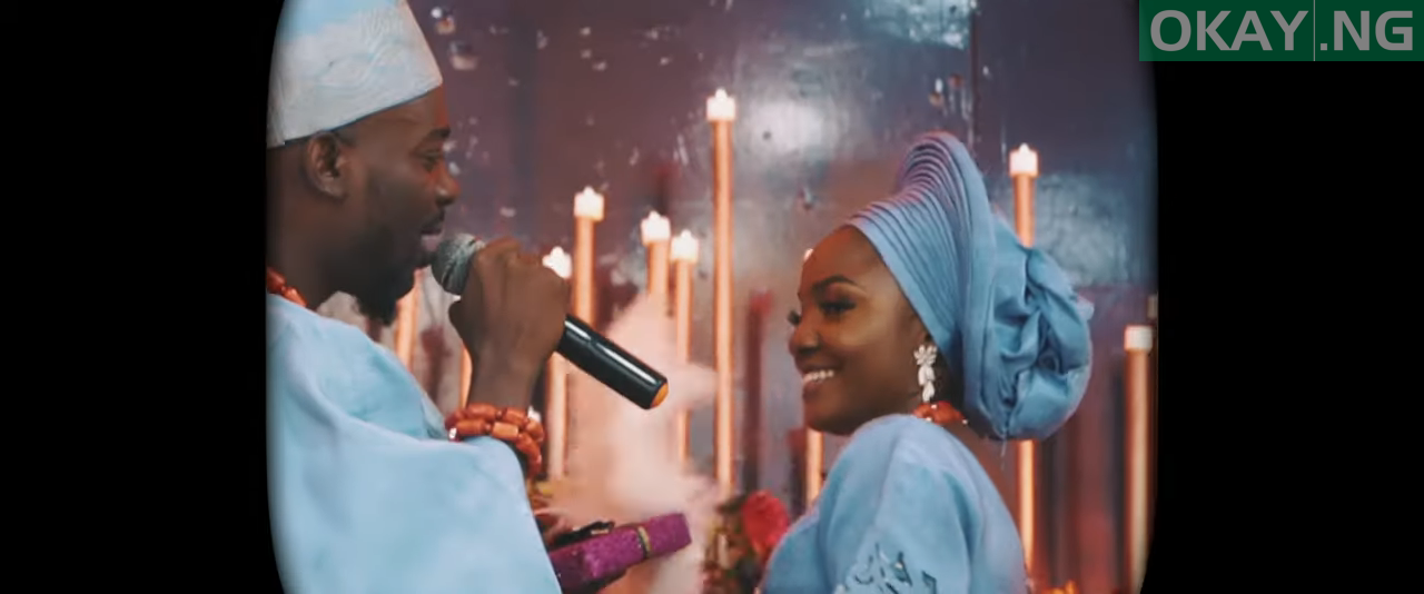 Simi By You Adekunle Gold Okay ng - Simi, Adekunle Gold share lovely moments in 'By You' video [Watch]