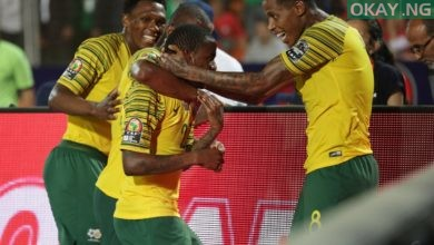 South Africa Okay ng 390x220 - AFCON 2019: South Africa beat Egypt to qualify for quarter finals