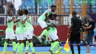 Super Eagles Okay ng 1 390x220 - Afcon 2019: Nigeria To Play Against South Africa In Quarter Finals