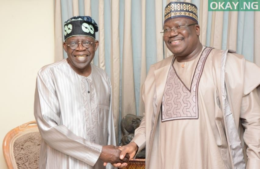 Photo of Tinubu hosts Lawan at his residence in Lagos [Pictures]