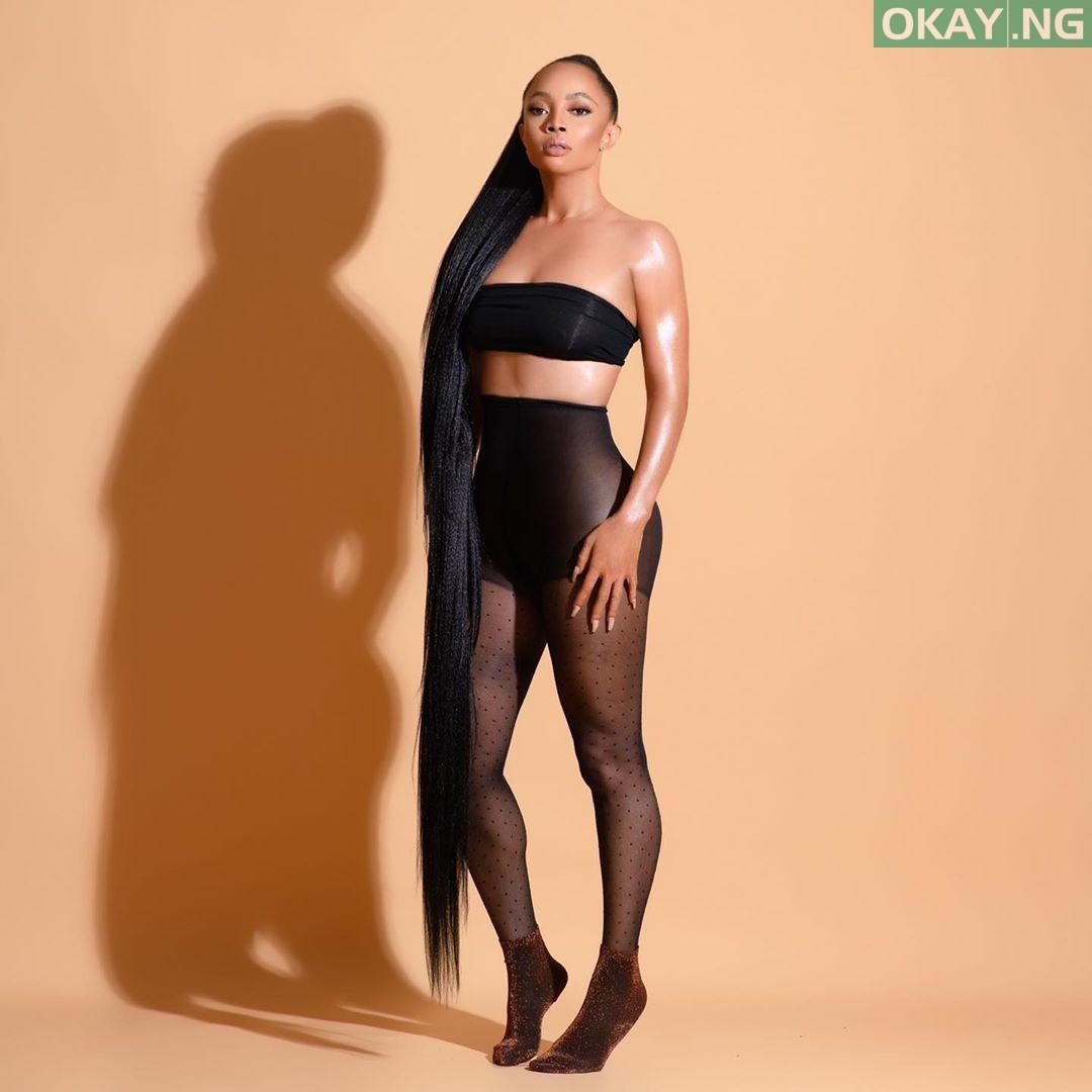 Toke 2 Okay ng - Toke Makinwa shares new photos showing off her bum