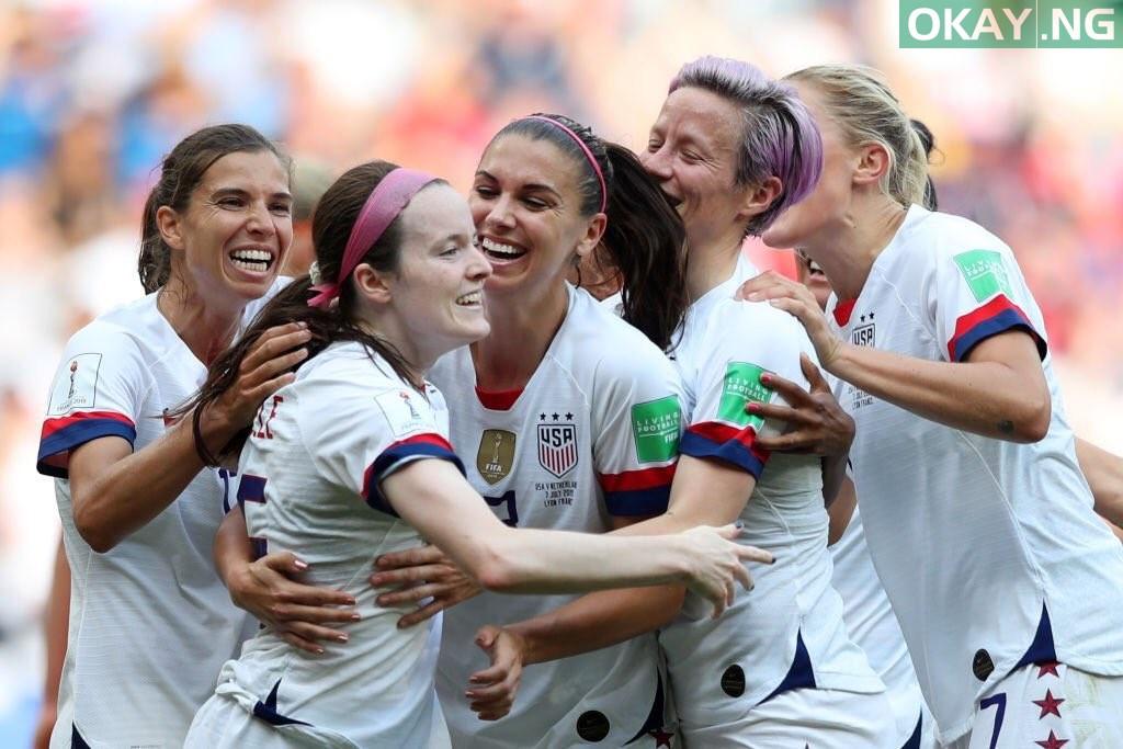 USA Women Okay ng - USA win 2019 FIFA Women's World Cup