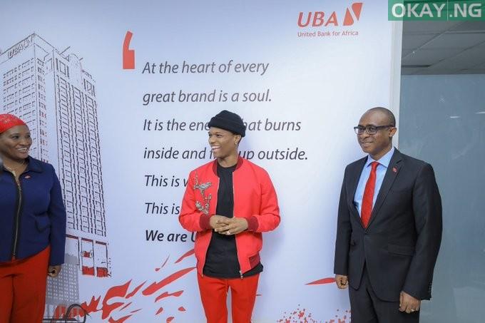 Wizkid UBA Okay ng 1 - Wizkid strikes 'biggest deal for Africa' with UBA