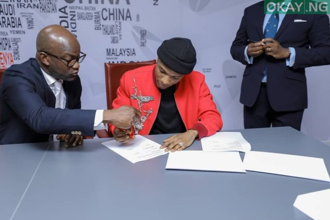 Photo of Wizkid strikes 'biggest deal for Africa' with UBA