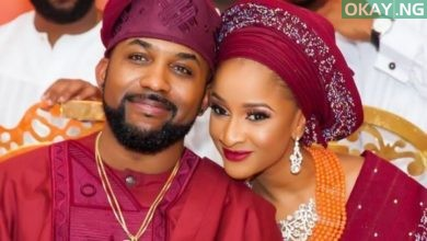Banky W and his wife, Adesua Etomi-wellington