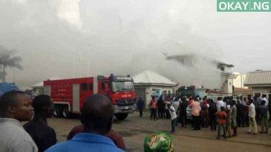 Fire at Hmedix, Abuja