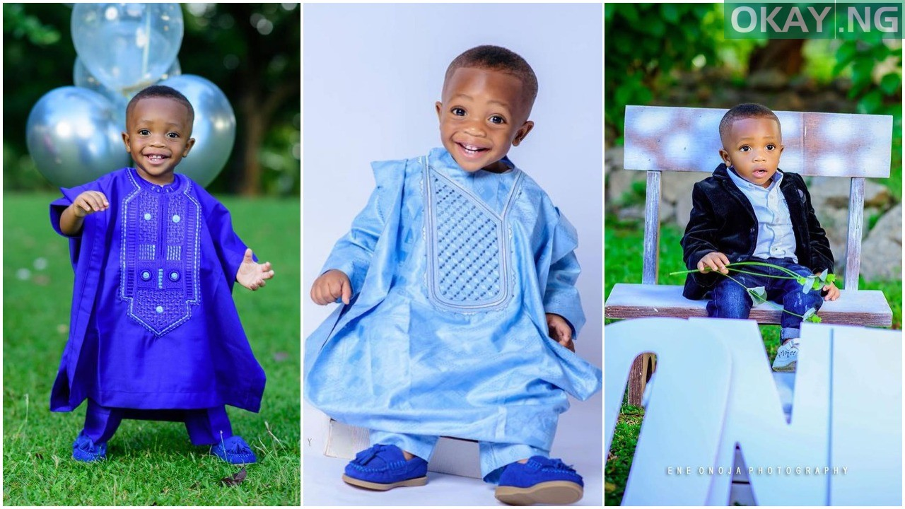 Photo of Ahmed Musa celebrates his son as he clocks a year old [See Photos]