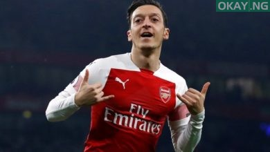 Arsenal playmaker, Mesut Ozil