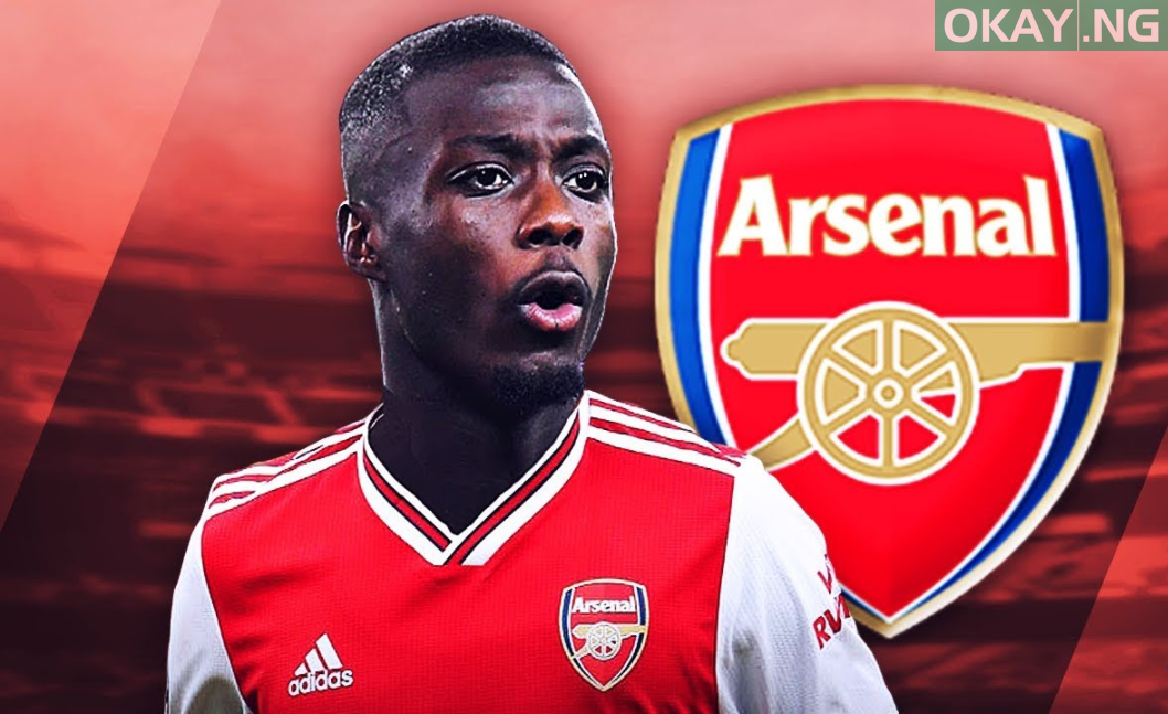 Photo of Nicolas Pepe completes move to Arsenal from Lille