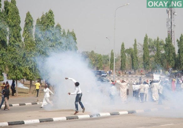 shiites Okay ng - Shiite protest turns violent again in Abuja