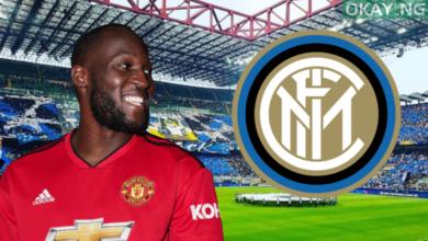 Manchester United Striker, Romelu Lukaku