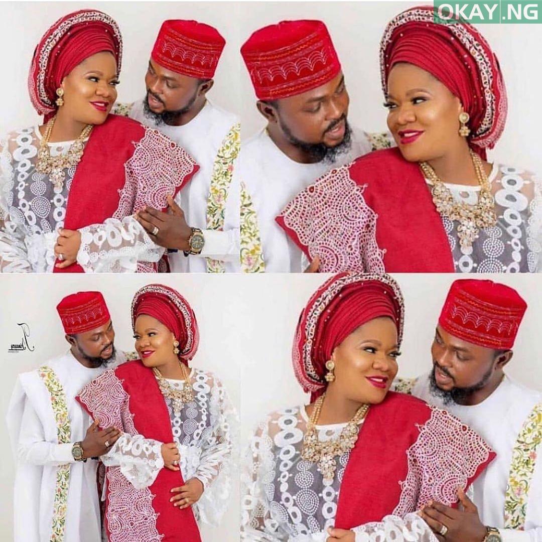 67187690 655146148322356 1704992858399687580 n - Toyin Abraham's wedding pictures with Kolawole Ajeyemi surfaces