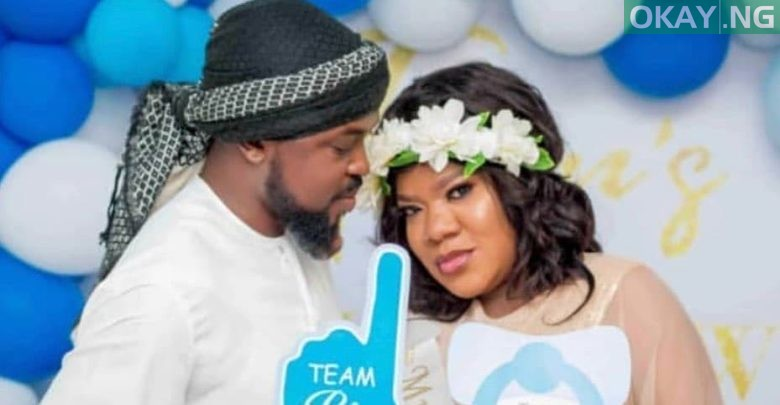 Photo of Toyin Abraham gives birth to a baby boy