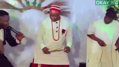Akpabio Okay ng 390x220 - Akpabio shows off dancing skills as he celebrates ministerial appointment [Video]