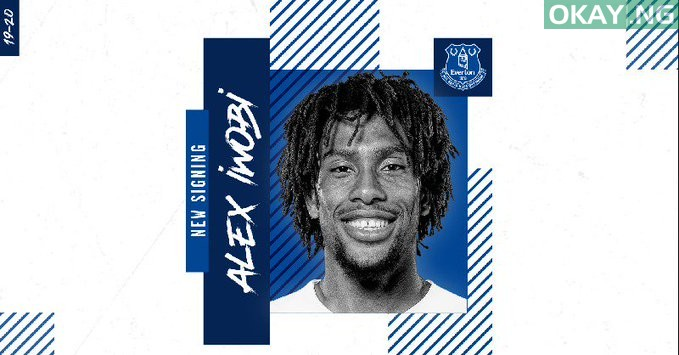 Alex Iwobi signs for Everton