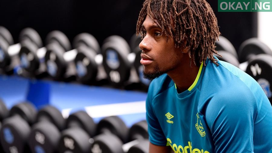 Alex Iwobi Everton Okay ng - Alex Iwobi gives reasons why he left Arsenal for Everton