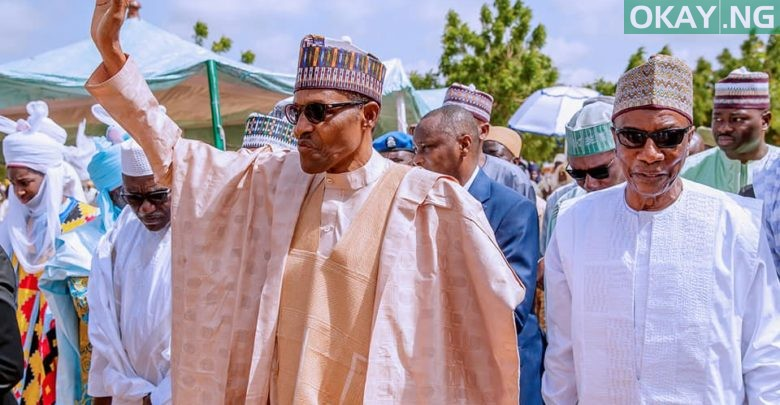 Photo of How Buhari, Guinean president celebrated Eid-el-Kabir in Daura [Photos]