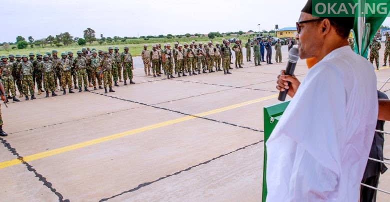 Photo of Eliminate them, don't spare any bandit — Buhari directs troops
