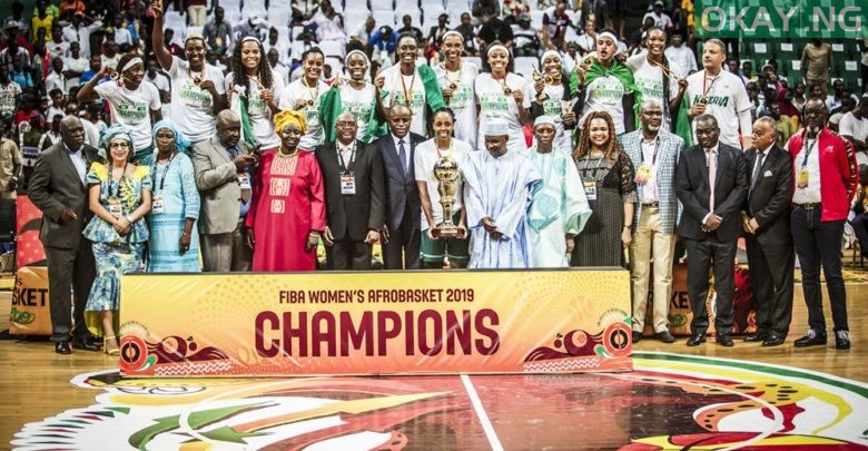 Photo of Buhari congratulates Nigeria's D'Tigress on 2019 Afrobasket win