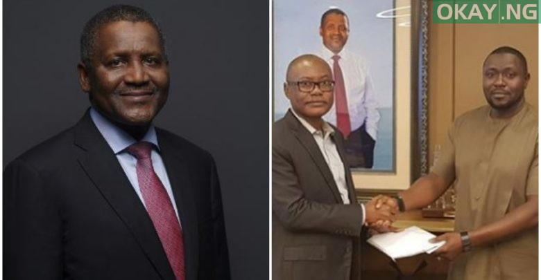 Photo of Dangote fulfills $50,000 per goal AFCON promise to Super Eagles