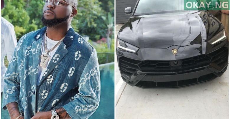 Photo of Davido buys himself a brand new Lamborghini Urus (Photos)