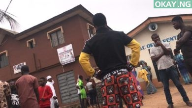 Ijegun Okay ng 390x220 - Angry mob lynch policeman to death for killing female Trader in Lagos
