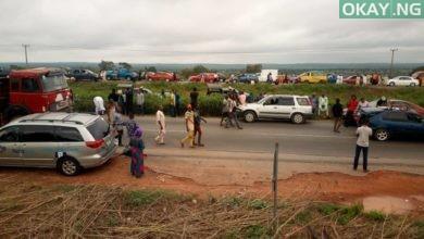 Kaduna Abuja Okay ng 2 390x220 - Kaduna-Abuja expressway cleared after blockage by protesting drivers