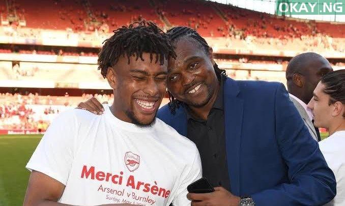 Photo of Kanu writes Iwobi after move to Everton