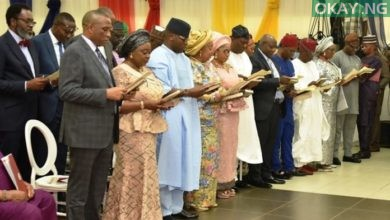 Lagos cabinet Okay ng 390x220 - Sanwo-Olu assigns portfolios to cabinet members