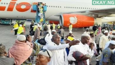 Lagos pilgrims arrive MMIA 2 390x220 - Hajj 2019: First batch of Nigerian pilgrims returns