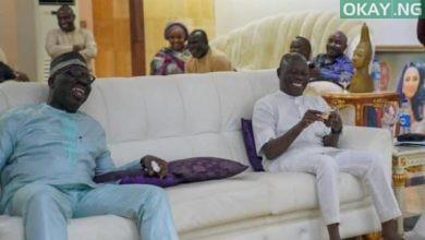 Obaseki Oshiomhole Okay ng 1 390x220 - In Photos: Obaseki visits Oshiomhole