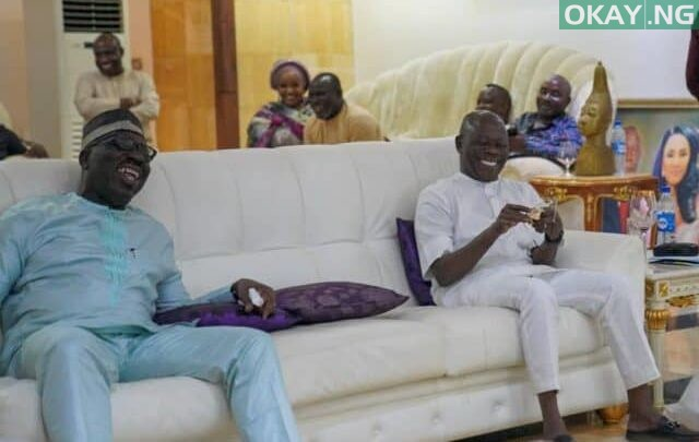 Photo of In Photos: Obaseki visits Oshiomhole