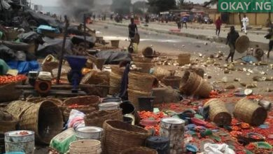Oke Ido Market Okay ng 1 390x220 - Lagos: Hausa, Yoruba traders clash at Oke-Odo Market [Photos]
