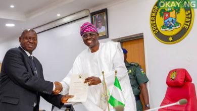 Sanwo Lagos Chief Judge 390x220 - Lagos Assembly confirms Kazeem Olanrewaju Alogba as Chief Judge