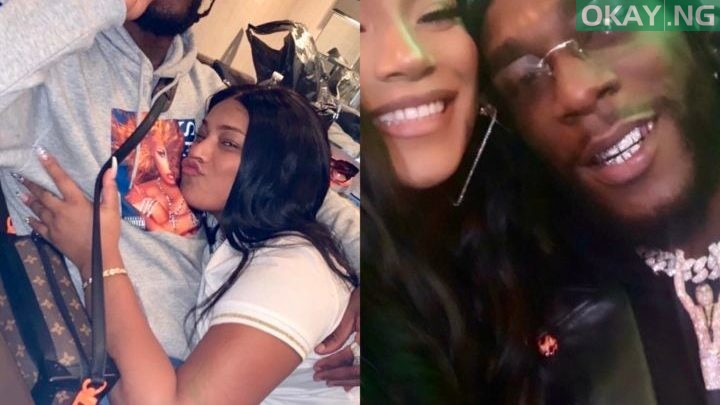 Photo of How Stefflon Don reacted to report on breakup with Burna Boy