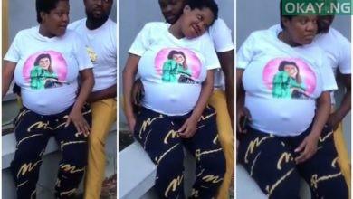 Toyin Abraham maternity video Okay ng 390x220 - Toyin Abraham shares maternity videos, thanks fans