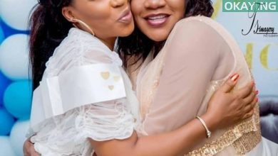 Toyin Baby shower Okay ng 1 390x220 - See Pictures from Toyin Abraham's baby shower