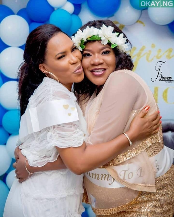 Toyin Baby shower Okay ng 1 - See Pictures from Toyin Abraham's baby shower
