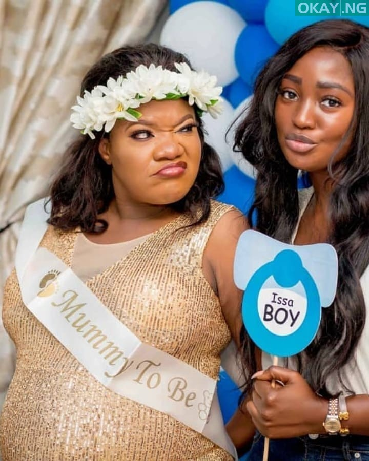 Toyin Baby shower Okay ng 7 - See Pictures from Toyin Abraham's baby shower