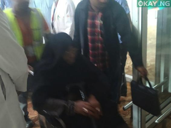 Zakzaky in India Okay ng 3 - In Photos: El-zakzaky, wife land in India for medical treatment