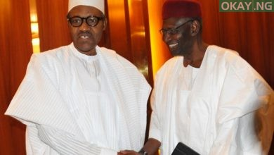 President Muhammadu Buhari and his Chief of Staff, Abba Kyari