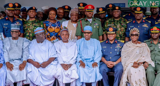 buhari commissions Okay ng 2 - In Pictures: Buhari commissions Air Force Reference hospital in Daura
