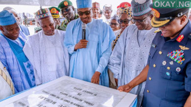 buhari commissions Okay ng 3 390x220 - In Pictures: Buhari commissions Air Force Reference hospital in Daura