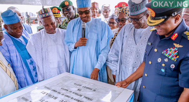 Photo of In Pictures: Buhari commissions Air Force Reference hospital in Daura