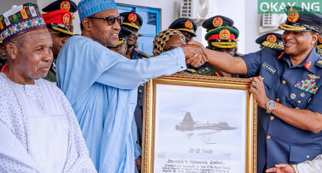 buhari commissions Okay ng 4 - In Pictures: Buhari commissions Air Force Reference hospital in Daura