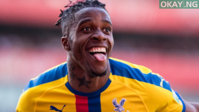 Crystal Palace forward, Wilfried Zaha