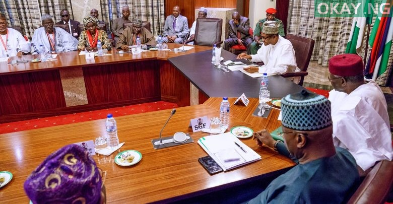 Photo of Buhari holds meeting with members of Police Service Commission
